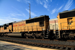 2016_02_16UP freight #4386Topaz (Walt Barnes) Tags: ca railroad sky cloud up clouds train canon eos engine rail cargo calif unionpacific locomotive ge martinez freight topaz generalelectric trackside emd sd70m dieselelectric sd70ace 60d ac45ccte canoneos60d eos60d topazinfocus wdbones99