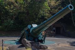 "12"" Cannon, 27km range gun battery, Corregidor Island, Manila Bay, Philippines (dltree76) Tags: world people canon army island bay us war gun pacific general outdoor philippines battery battle ii manila imperial artillery filipino douglas macarthur corregidor emplacement bataan japenese japenes"