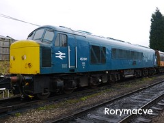 British Rail 45041 'Royal Tank Regiment' (Rorymacve Part II) Tags: train track branch diesel engine rail railway trains class emu locomotive express passenger railways freight steamlocomotive shunter mainline dmu diesellocomotive electriclocomotive multipleunit