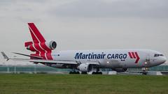 Martinair MD-11F PH-MCU STN 18/01/16 (robdsn) Tags: md11 stn martinair trijet stanstedairport 3holer phmcu