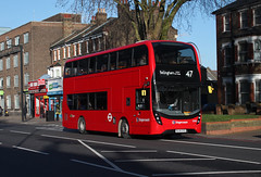 Route 47, Stagecoach London, 13085, BL65OYD (Jack Marian) Tags: bus london buses volvo shoreditch bellingham mmc catford route47 13085 stagecoachlondon enviro400h volvob5l catfordbusgarage b5lh volvob5lh enviro400mmc e400mmc bl65oyd bellinghamcatfordbusgarage