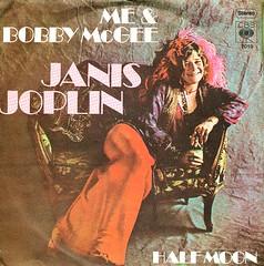 5 - Joplin, Janis - Me & Bobby McGee - D -1970 (Affendaddy) Tags: germany 1970 cbs halfmoon janisjoplin 7019 mebobbymcgee vinylsingles collectionklaushiltscher usrockblues