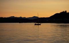 Sunset at Auke Bay Harbor (Photoski141) Tags: alaska landscape