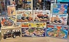Recent Arrivals – Blast from the Past!! Vintage Kits 1 – 7 Feb 2016 (My Toy Museum) Tags: city goofy island robot secret harley turbo pirate arrival tamiya gogo viva recent imai furo tomy arrivals guts marui kuttu benki