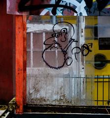 Streetart Miscellaneous 1991 (cmdpirx) Tags: street urban color colour art public cutout painting fun graffiti chalk nikon paint artist 7100 quote d space raum kunst strasse tag hamburg humor can brush spray crew marker hh aerosol tagging farbe spruch kreide ffentlicher kuenstler