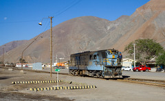 Shunting at Llanta (david_gubler) Tags: chile train railway llanta potrerillos ferronor
