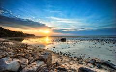 Blue Sunset (Soiparadize) Tags: travel sunset clouds thailand cool rocks sony shoreline bluesky boulder phuket 15mm f4 travelphotography naiyang travelphotos amazingthailand naiyangbeach a7r 1018mm thailandphotography thailandonly sony1018mm sonya7r ilce7r