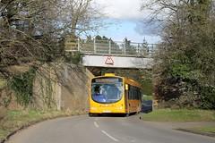 Sanders 317 1408hrs Norwich to Reepham 250216 (return2layerroad) Tags: norfolk norwich wright sanders aylsham reepham scanial94ub