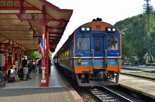 Hua Hin Railway Station - Thailand