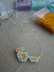 Sunglasses2 (Lea et le chat Malo) Tags: beads miyuki beading delicas