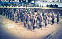 Terracotta Warriors (Mule67) Tags: world china heritage army site terracotta unesco xian guards 2007 5photosaday warrors