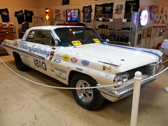 "1962 Pontiac Catalina ""White Lightning"" (splattergraphics) Tags: catalina pontiac 1962 lightweight 421 whitelightning superduty dragcar dstock brownsperformancemotorcars"
