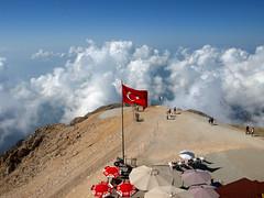 Turcja (tomek034 (Thank you for the 900 000 visits)) Tags: turkey turkiye gry turcja flaga szczyt tantali
