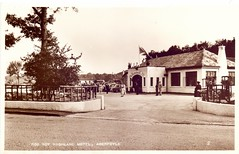 Rob Roy Motel, Aberfoyle. (Paris-Roubaix) Tags: roy vintage scotland antique perthshire pass scottish motel rob postcards dukes aberfoyle