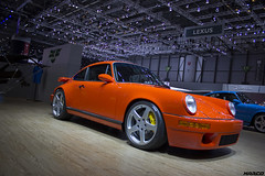 Classic look, modern tech (Iceman_Mark) Tags: orange geneva geneve 911 porsche salon scr sportscar motorshow naturally ruf 964 flatsix 2016 watercooled 42litre aspirated