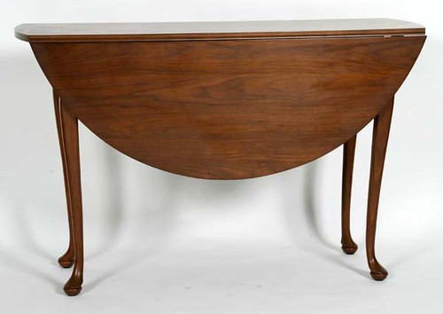 Suters Queen Anne Drop-Leaf Table - $385.00