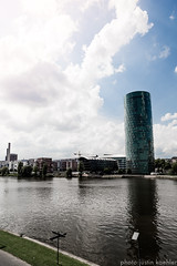 Frankfurt am Main (jkaehler01) Tags: tower germany europe euro frankfurt westhafen westhafentower frankfurtammain rivermain