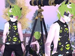 waiting for night (Yukiterudiary) Tags: moon stars avatar horns 20 m3 raven ti gacha kemono tamagosenbei katat0nik krankhause glutz