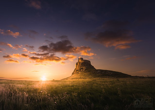 Lindisfarne and Little Fluffy Clouds