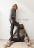 elle201 (Cuir Couple) Tags: leather sm skirt bdsm jacket jupe mistress veste leder femdom pant pantalon cuero cuir hosen maitresse cuissardes
