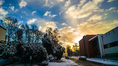 WP_20160318_07_39_49_Raw__highres (madeinfin) Tags: road snow clouds sunrise finland helsinki kulosaari kystikalliontie