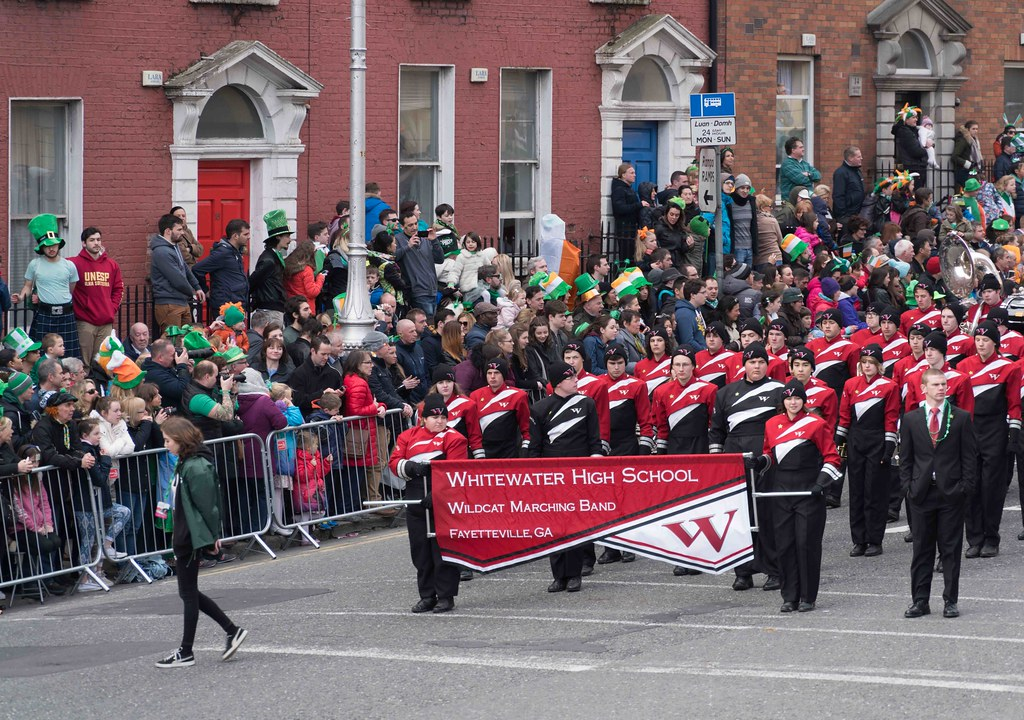 WHITEWATER HIGH SCHOOL WILDCAT MARCHING BAND [PATRICK'S DAY 2016]-112479