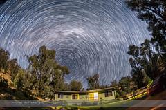 Circumpolar Stars over Tibuc Cottage (Amazing Sky Photography) Tags: nightscape australia startrails circumpolar southernsky starcircleacademy advancedstackerplus tibiccottage