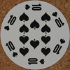 Round Playing Card 10 of Spades (Leo Reynolds) Tags: xleol30x squaredcircle playing card playingcard deck carddeck sqset126 canon eos 40d xx2016xx