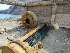 White Island sulphur processing machinery (JayVeeAre (JvR)) Tags: sea window island volcano rust ruins decay machinery volcanic heatexchanger explored picasa3 johnvanrooygmailcom johnvanrooy gimp28 canonpowershotsx60hs johannesvanrooy httpwwwflickrcomphotosjayveeare httpwwwpanoramiocomuser1363680 httppicasawebgooglecomjohnvanrooy ©2016johannesvanrooy tubeandplateheatexchanger