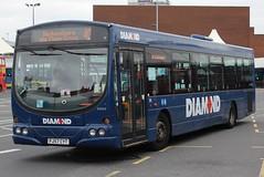Diamond Volvo B7RLE/Wright Eclipse Urban 30509 (FJ57 CYT) (Tividale) (john-s-91) Tags: diamond westbromwich 30509 volvob7rle wrighteclipseurban fj57cyt sandwellroute40