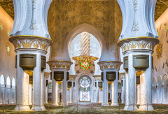 Inside (jaumedarenys) Tags: interior mosque abudhabi inside unitedarabemirates hdr desembre 2015 eos7d sheikhzayedmosque