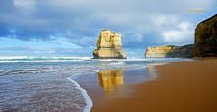 Great Ocean Road (Ricaden) Tags: beach rock sand relaxing melbourne victoria serenity breeze