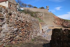 2016 - 26.4.16 Crail (21) (marie137) Tags: road new bridge sea sky beach dogs animals st landscape boats town sand crossing village harbour forth queensferry crail monans geman