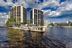 Fort Myers (tropicdiver) Tags: gulfofmexico palmtrees highrise tropical condos southwestflorida caloosahatcheeriver