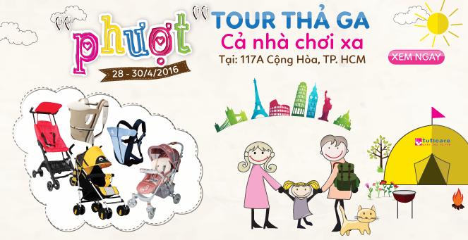"""""""PHƯỢT"""" TOUR THẢ GA, CẢ NHÀ CHƠI XA !!!"""