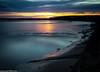 Mersey sunset (1 of 1) (andyyoung37) Tags: sunset england reflections unitedkingdom gb orangesky runcorn widnes rivermersey runcornbridge
