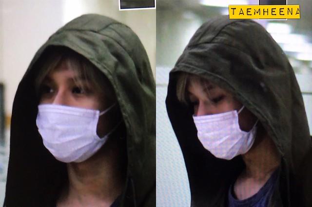 160427 Taemin @ Aeropuerto Gimpo {Llegada a Corea} 26128214793_bd0dd3c71f_z