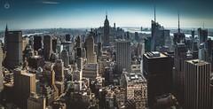 Urban Jungle (Augmented Reality Images (Getty Contributor)) Tags: city nyc panorama usa newyork america canon buildings stitch manhattan adobe editing urbanjungle hdr bracketedexposure leefilters