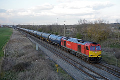 60017 6m00 humber refinery to kingsbury passing catholme near wichnor junction (I.Wright Photography over 2 million views thanks) Tags: junction passing refinery humber 60017 6m00 wichnor kngsbury