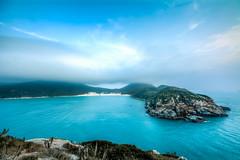 Ilha do Farol, Arraial do Cabo - RJ (andrebatz) Tags: ocean blue summer brazil praia beach water rio gua azul brasil clouds de island mar cabo nikon do janeiro nuvens vero farol ilha oceano arraial d7100