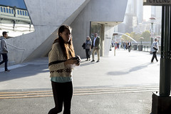Caught in the act (Sarah L. Donovan) Tags: melbourne bracketing exercise5 worldaroundus