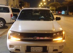 Chevrolet - TrailBlazer LS - 2008  (saudi-top-cars) Tags: