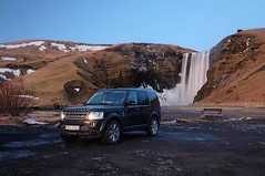We follow the coordinates 633147N 193050W, which brings us alongside the Skoga River in the south of Iceland. Legend has it that treasure lies behind the Skogafoss waterfall, but we see priceless value in its view. #DISCOVERICELAND #LRDiscovery #I (landroverorlando) Tags: auto usa cars car orlando automobile florida united group rover land fields fl states autos landrover rangerover luxury automobiles wwwlandroverorlandocom