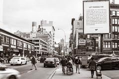 Let Yourself Go (Neta Bartal) Tags: life new york city nyc chinatown go billboard busy yourself let symbolic nikond5000 netabartal