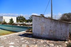 camping no more - pool (Rasande Tyskar) Tags: camping abandoned portugal pool leer algarve decayed campsite campingplatz verlassen schwimmbad verfallen valedatelha deixar