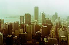 Chicago Skyline Viewed from John Hancock Signature Room DSC05796-Edit (nianci pan) Tags: urban chicago building rain skyline architecture landscape illinois cityscape sony foggy lakemichigan lakeshore pan johnhancock 芝加哥 sonyalphadslr nianci sonyphotographing 密歇根湖 密歇根州