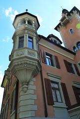 Chur (micky the pixel) Tags: building schweiz switzerland suisse architektur chur gebude fassade erker graubnden grischuna