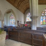 Doddington (Lincs) St Peter's church interior thumbnail