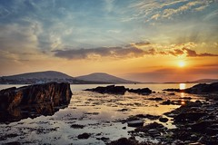 April Sunset at Reenard Point, Co. Kerry, Ireland (James Grandfield) Tags: sunset sun seascape landscape ngc kerry beautifulsunset caherciveen kerrycoast hdrsunset seascapesunset reenard kerrysunset