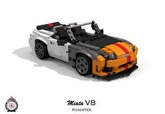 LUGNuts Custom Miata V8 Roadster (lego911) Tags: 2005 auto car japan modern japanese nc model rat lego render convertible smell rod 102 custom mazda ports challenge v8 cad sportscar mx5 lugnuts roadster povray ratrod 2000s moc mkiii mk3 ldd miniland foitsop lego911 ismellamodernrat